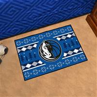 "NBA - Dallas Mavericks Holiday Sweater Starter Mat 19""x30"""