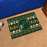 "NBA - Utah Jazz Holiday Sweater Starter Mat 19""x30"""