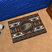 "NHL - Anaheim Ducks Holiday Sweater Starter Mat 19""x30"""