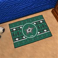 "NHL - Dallas Stars Holiday Sweater Starter Mat 19""x30"""