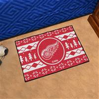 "NHL - Detroit Red Wings Holiday Sweater Starter Mat 19""x30"""