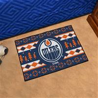 "NHL - Edmonton Oilers Holiday Sweater Starter Mat 19""x30"""