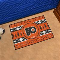 "NHL - Philadelphia Flyers Holiday Sweater Starter Mat 19""x30"""