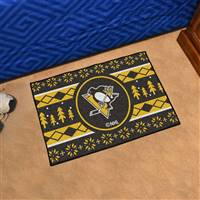 "NHL - Pittsburgh Penguins Holiday Sweater Starter Mat 19""x30"""