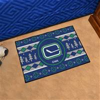 "NHL - Vancouver Canucks Holiday Sweater Starter Mat 19""x30"""