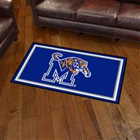 "University of Memphis 3x5 Rug 36""x 60"""