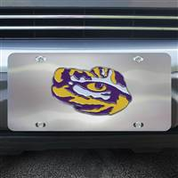 Louisiana State University Diecast License Plate 12X6