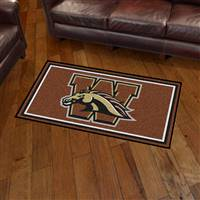 "Western Michigan University 3x5 Rug 36""x 60"""