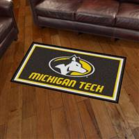 "Michigan Tech University 3x5 Rug 36""x 60"""
