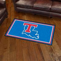 "Louisiana Tech University 3x5 Rug 36""x 60"""