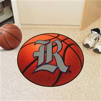 "Rice Owls Basketball Rug 29"" diameter"