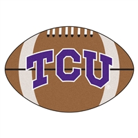 "Texas Christian (TCU) Horned Frogs Football Rug 22""x35"""
