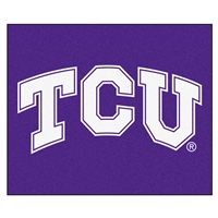 "Texas Christian (TCU) Horned Frogs Tailgater Rug 60""x72"""
