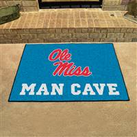 "University of Mississippi (Ole Miss) Man Cave All-Star 33.75""x42.5"""