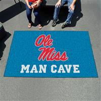 "University of Mississippi (Ole Miss) Man Cave UltiMat 59.5""x94.5"""