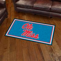 "University of Mississippi (Ole Miss) 3x5 Rug 36""x 60"""