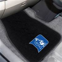 "Duke University 2-pc Embroidered Car Mat Set 26""x17""x0.5"""