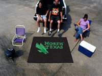 "North Texas Mean Green Tailgater Rug 60""x72"""