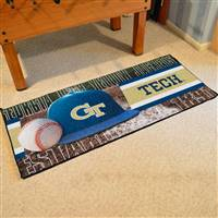 "Georgia Tech Baseball Runner 30""x72"""
