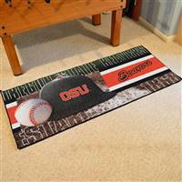 "Oregon State Baseball Runner 30""x72"""