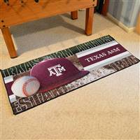 "Texas A&M Baseball Runner 30""x72"""