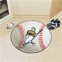 "Milwaukee Brewers Baseball Mat 27"" diameter"