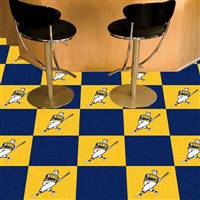 "Milwaukee Brewers Team Carpet Tiles 18""x18"" tiles"