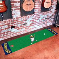 "Milwaukee Brewers Putting Green Mat 18""x72"""