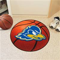 "University of Delaware Basketball Mat 27"" diameter"