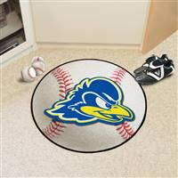"University of Delaware Baseball Mat 27"" diameter"