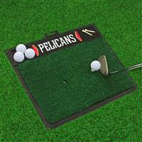 "NBA - New Orleans Pelicans Golf Hitting Mat 20"" x 17"""