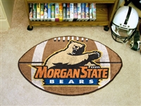 "Morgan State Bears Football Rug 22""x35"""