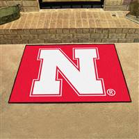 "University of Nebraska All-Star Mat 33.75""x42.5"""
