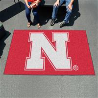 "University of Nebraska Ulti-Mat 59.5""x94.5"""