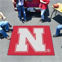 "University of Nebraska Tailgater Mat 59.5""x71"""