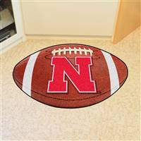 "University of Nebraska Football Mat 20.5""x32.5"""