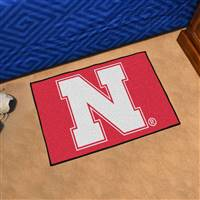 "University of Nebraska Starter Mat 19""x30"""