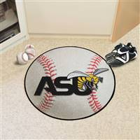 "Alabama State University Baseball Mat 27"" diameter"