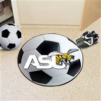 "Alabama State University Soccer Ball Mat 27"" diameter"