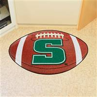 "Slippery Rock Football Rug 22""x35"""