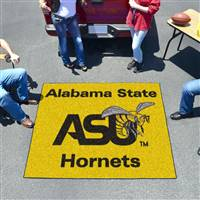 "Alabama State Hornets Tailgater Rug 60""x72"""