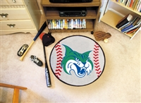 "Georgia College & State Baseball Rugs 29"" diameter"
