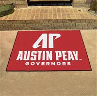 "Austin Peay State Governors All-Star Rug 34""x45"""