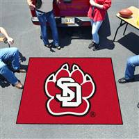 "University of South Dakota Tailgater Mat 59.5""x71"""