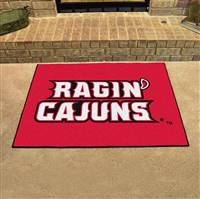 "Louisiana-Lafayette Ragin' Cajuns All-Star Rug 34""x45"""