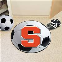 "Syracuse University Soccer Ball Mat 27"" diameter"