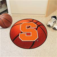 "Syracuse Orange Basketball Rug 29"" diameter"