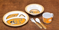 Tennessee Volunteers Kid's 5 Pc. Dish Set