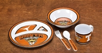 Texas Longhorns Kid's 5 Pc. Dish Set