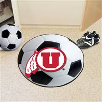 "University of Utah Soccer Ball Mat 27"" diameter"